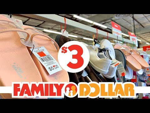 FAMILY DOLLAR CLEARANCE!!!! SHOES + CLOTHES JUST $3 AND UNDER!!!