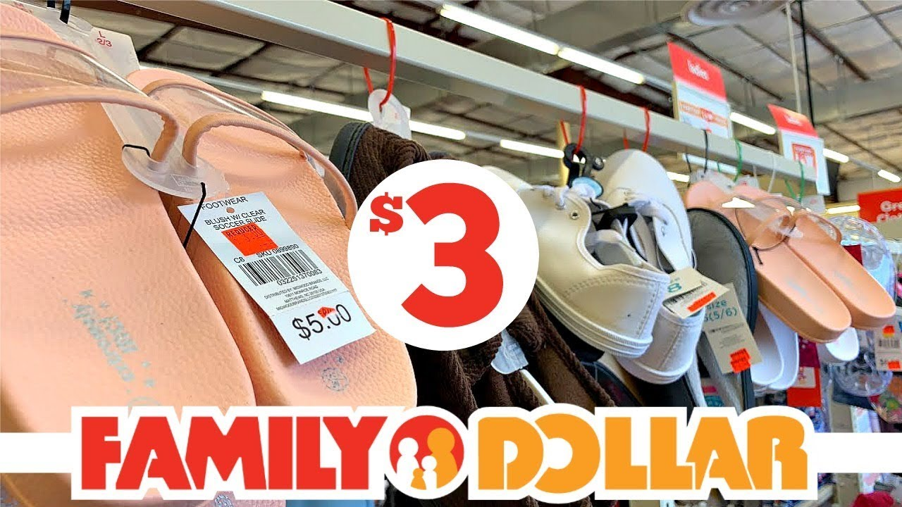 FAMILY DOLLAR CLEARANCE!!!! SHOES +
