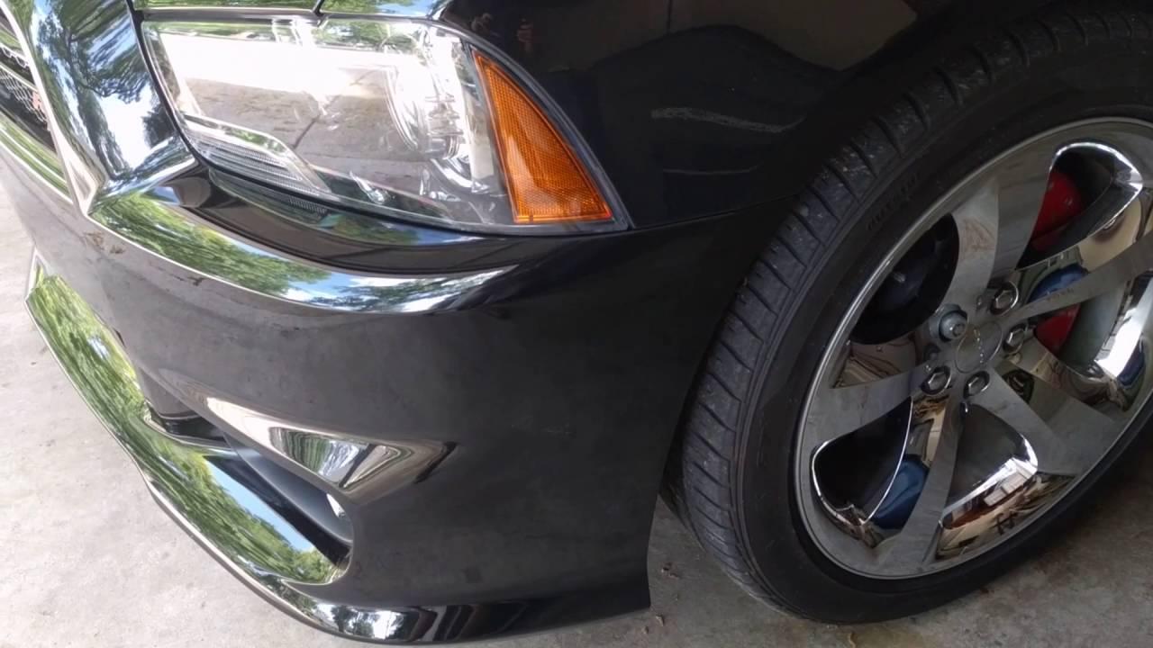 Dodge Charger Srt8 Front Bumper Conversion Youtube