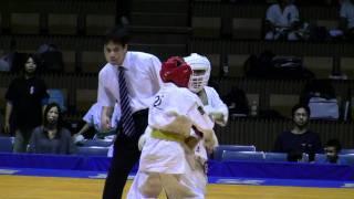 2011/10/15国立代々木競技場第2体育館で行われた第3回全日本空手道選手...
