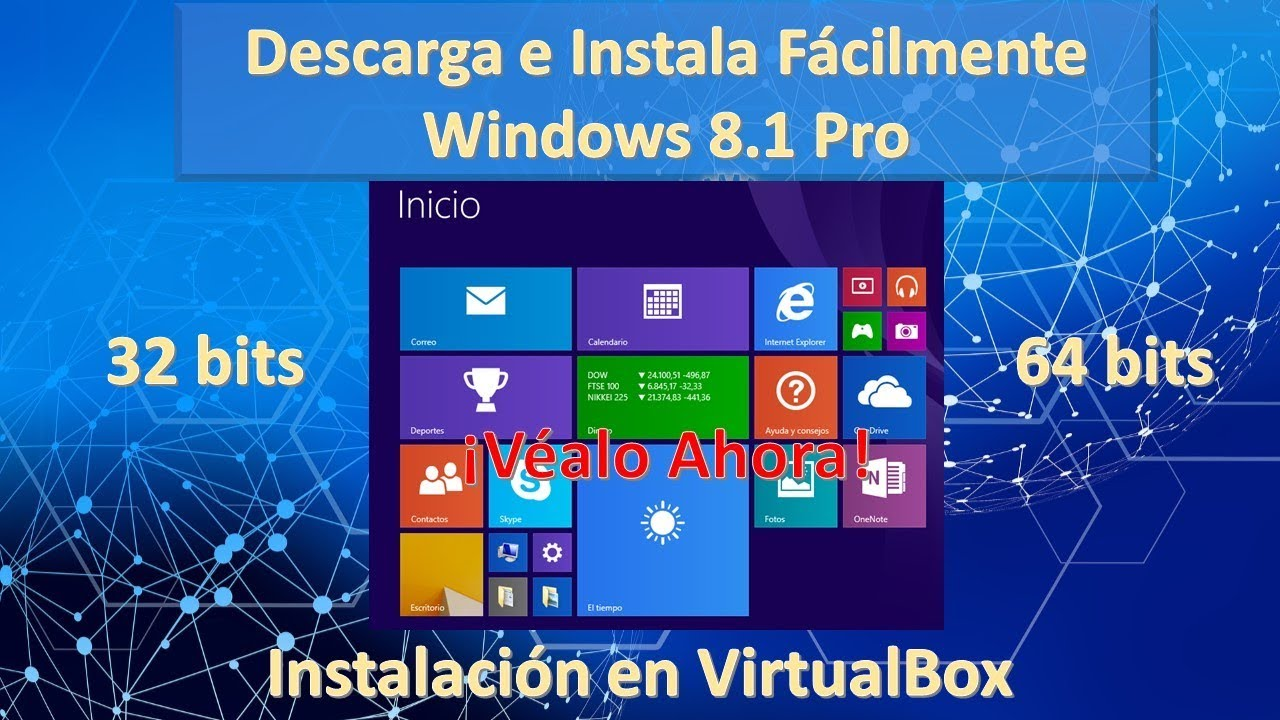 Descargar e Instalar Windows 8.1 pro 32 y 64 …