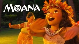 "MOANA song ""Where You Are"""