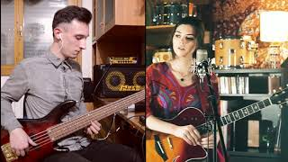 Radiohead Meets The Police - Bass Cover - Live Looping Mashup by Elise Trouw
