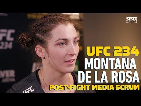 Montana De La Rosa: I'll fight a top-five opponent if UFC pays me 'a little more'