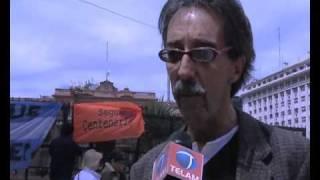 Demostraciones De Apoyo A La Presidenta En Plaza De Mayo