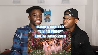 CAMILA CABELLO AMAS 2019 LIVING PROOF LIVE PERFORMANCE REACTION