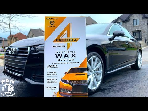 Rust-Oleum Factor 4 Car Wax System REVIEW!  Wash. Wax. DONE.
