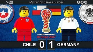 Final Confederations Cup Russia 2017 • Chile vs Germany • Lego Football Film Highlights