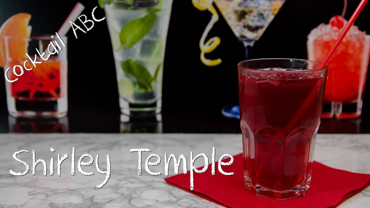 Shirley Temple - der fruchtige Ingwer-Cocktail - Cocktail ABC - S (Ohne Alkohol)