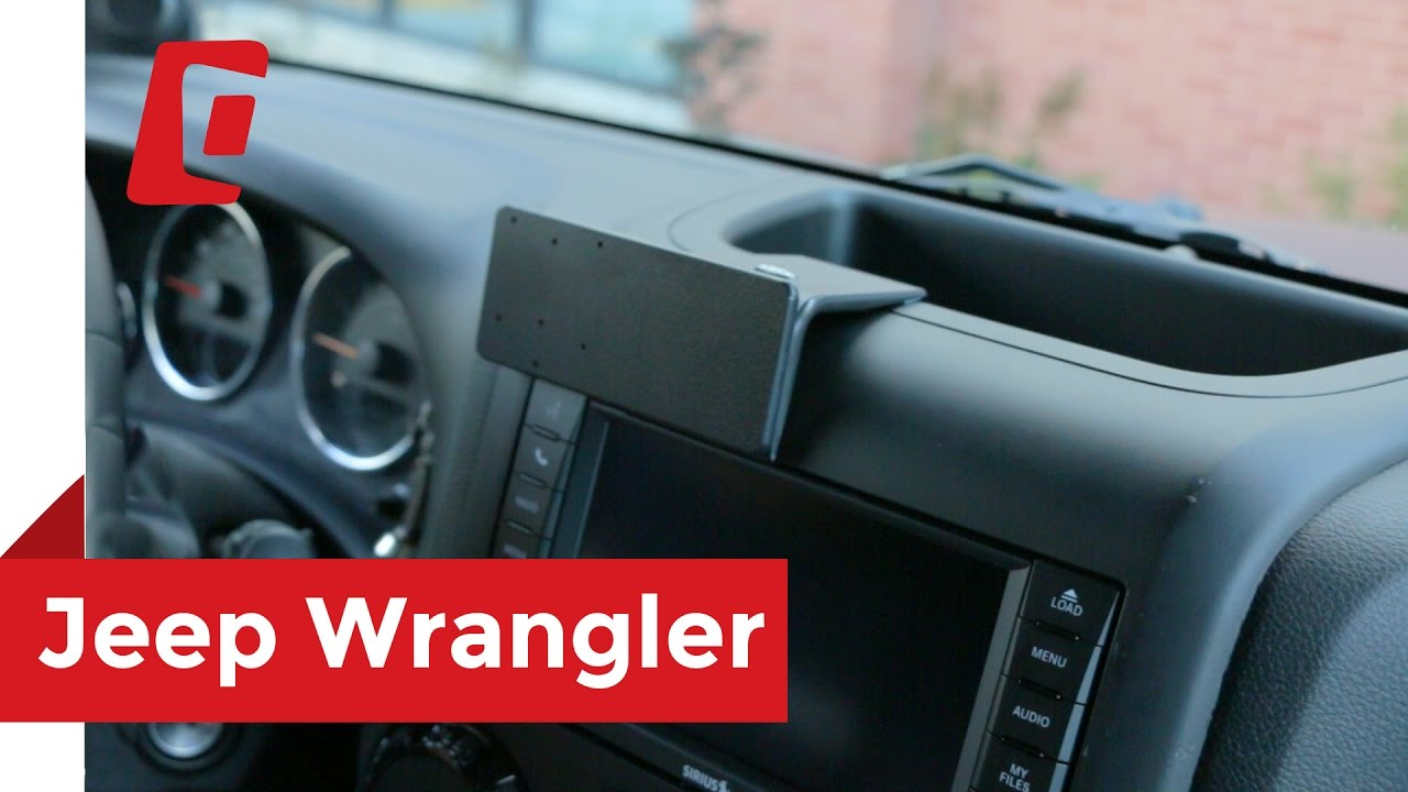 Magnetic Cell Phone Mount >> ProClip USA Center Mount 2011 - 2017 Jeep Wrangler 854548 - YouTube
