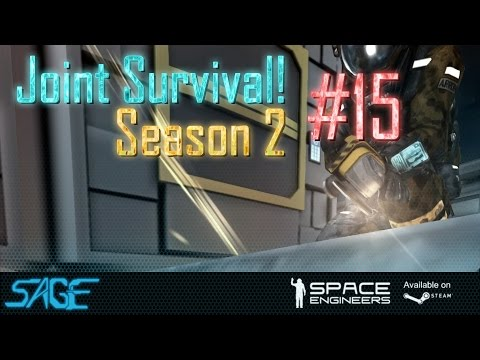 Space Engineers, Joint Survival, S2 #15 (Flesh eating ship)