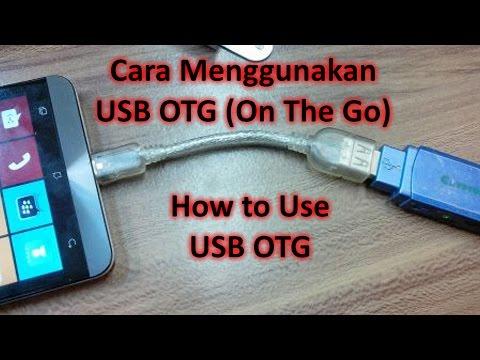 Cara transfer file dari / ke flash disk di Android menggunakan USB OTG