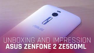ASUS Zenfone 2 [ZE550ML] 2GB Unboxing / Impression / Hands On