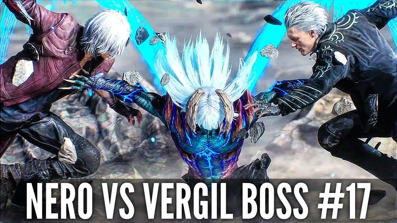 Teufel kann 5 Nero vs Vergil Final Boss Fight # 17 (1080p HD 60FPS) + video