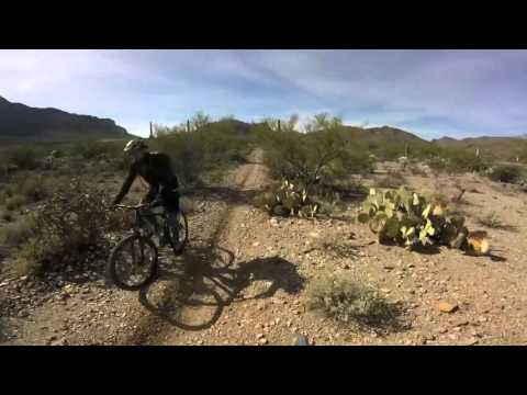 Starr Pass Mountain Bike Ride, Tucson Arizona