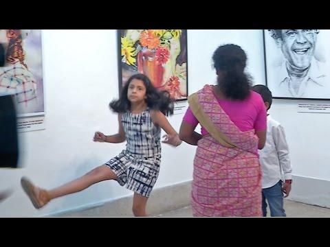 Surya - Jyothika's Children Diya & Dev Playing | Unseen Video