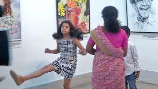 Surya - Jyothika's Children Diya & Dev Playing   Unseen Video
