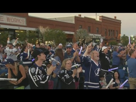 Lightning host watch party at Tampa's Armature Works
