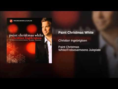 Paint Christmas White