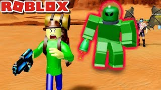CAMPING TRIP TO MARS WITH BALDI?! | Roblox: Time Travel Adventures Mission To Mars