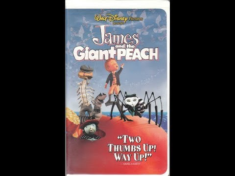 Opening to James and the Giant Peach 1996 VHS