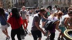 The MP3 - Experiment *** Innsbruck Lauscht -  Flashmob