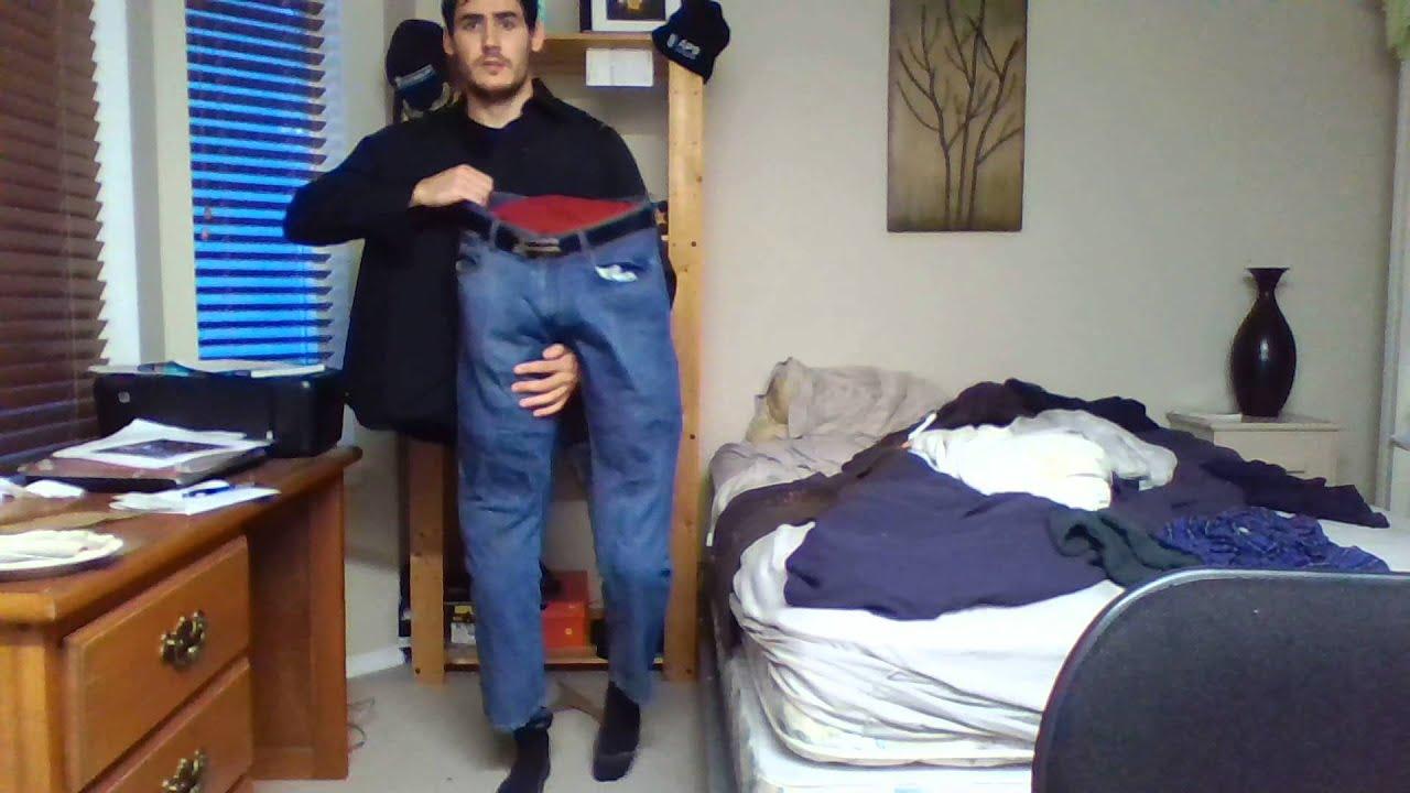 Man in half prank