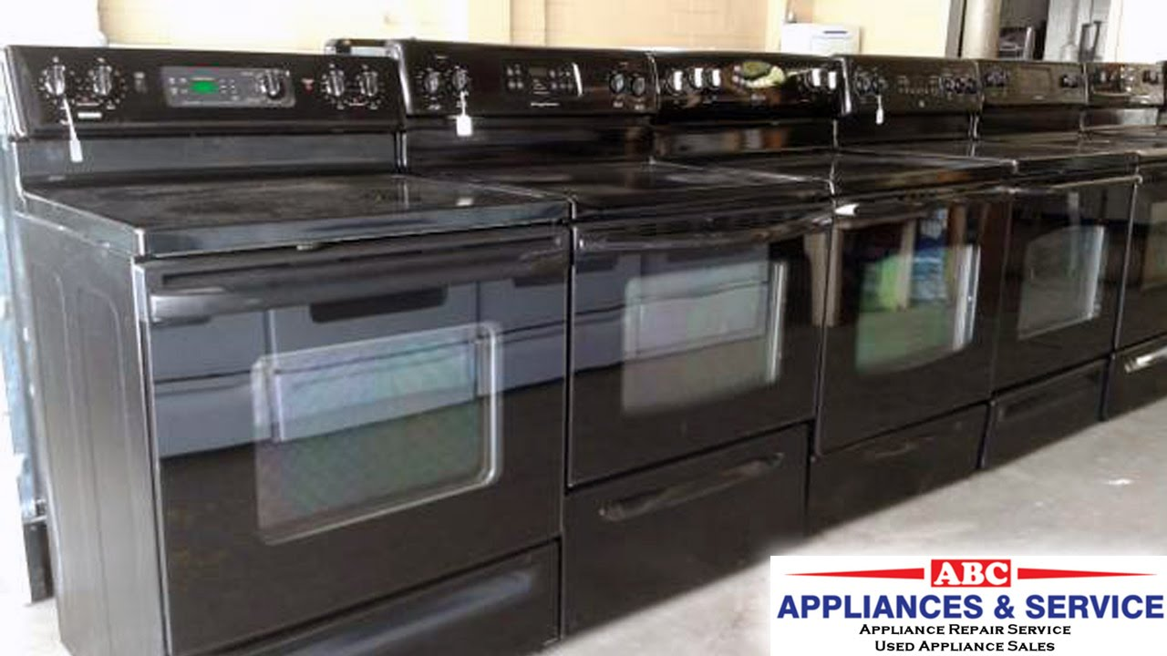 Appliances Tampa Glass Top Stoves For Sale Tampa 813 575 3005 Get Used Glass