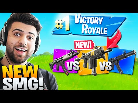 HOW GOOD Is The *NEW* Rapid Fire SMG? Ft. Ninja (Fortnite Battle Royale Season 2 Gameplay)