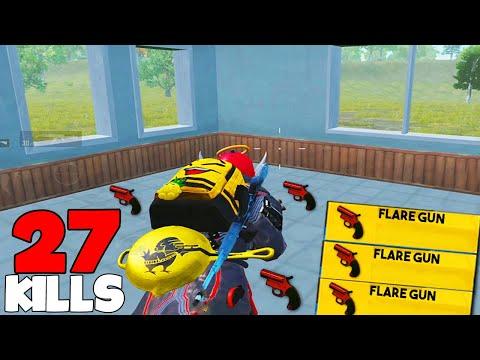 FOUND 3 FLARE GUNS | PUBG MOBILE 🐼