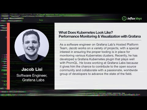 Jacob Lisi | WHAT DOES KUBERNETES LOOK LIKE?: PERFORMANCE MONITORING & VISUALIZATION WITH GRAFANA