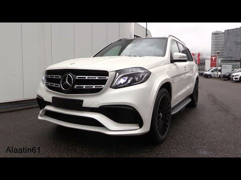 Mercedes-Benz GLS63 AMG 2017 Start Up, Exhaust Sound, In Depth Review