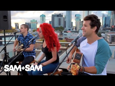 I Won't Give Up - Sam & Sam ft Sarah De Bono & Sam Ludeman (Jason Mraz Cover)