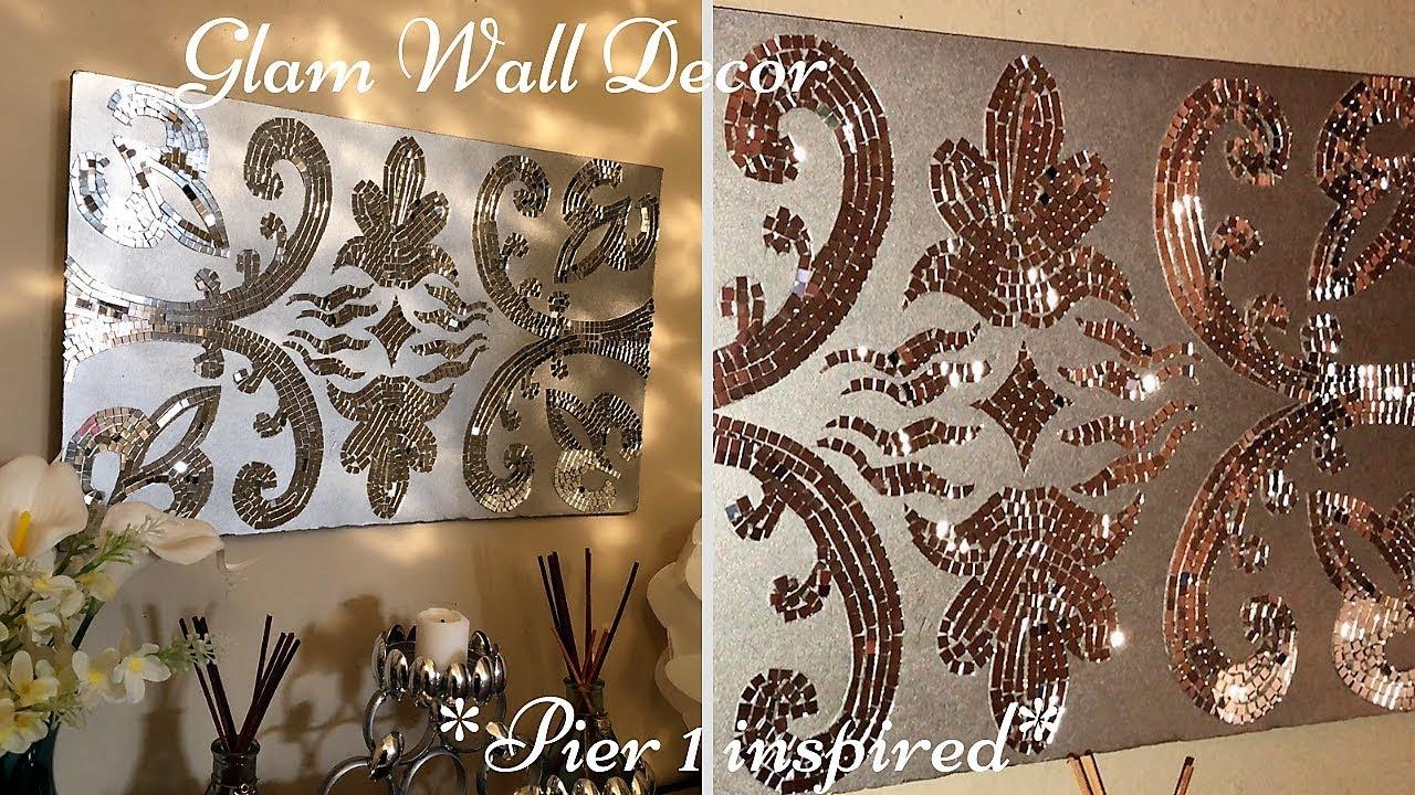 Diy Pier 1 Inspired Wall Art Mirror