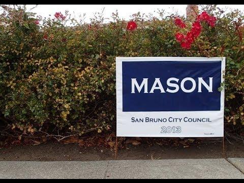Andrew T Mason For San Bruno California City Council