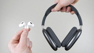 AirPods Pro vs AirPods Max | In-Ear vs Over-Ear - Die richtige Wahl treffen!