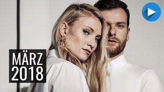 Neue Musik ► TOP 20 MÄRZ 2018 | CHARTS MÄRZ 2018 - PART 2