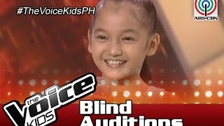 "The Voice Kids Philippines 2016 Blind Auditions: ""One Night Only"" by Jean"