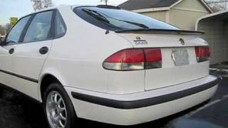2000 Saab 9-3 2.0 Turbo Start Up, Engine, and Full Tour