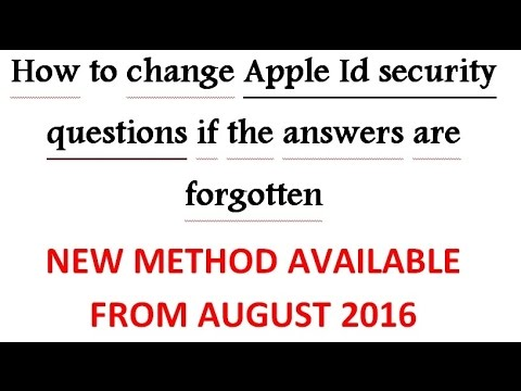 how to reset security questions on iphone how to change apple id security questions without rescue 6602