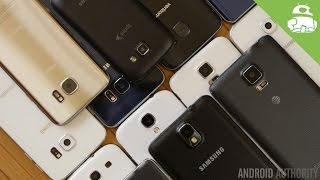 A history of Samsung's Android design