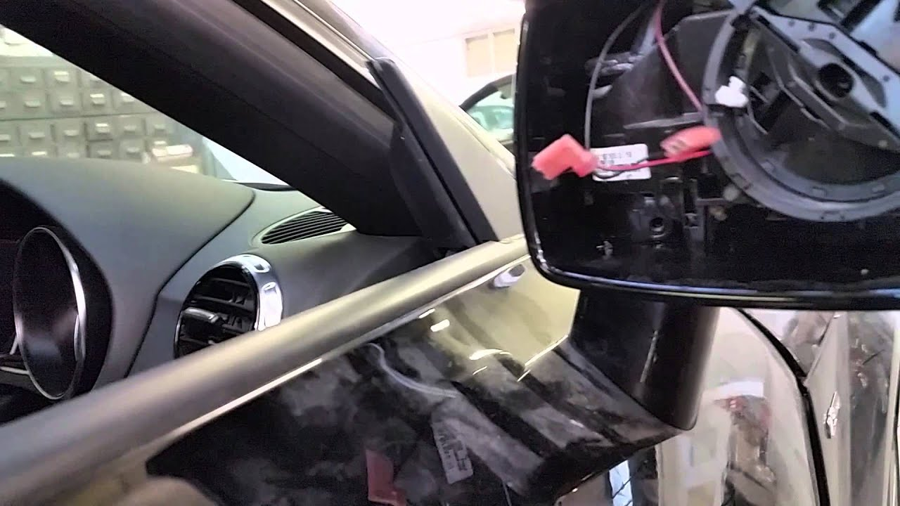 Audi Tt 2013 Door Mirror Removal Youtube