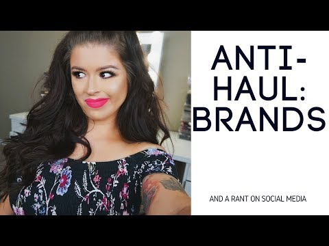 Anti Haul: Brands Not Worth The Hype (Morphe, Gerard, Kylie) Plus a Rant On Social Media