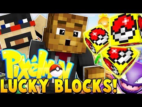 PIXELMON Lucky Block Challenge | Minecraft - Pixelmon Mod Battle