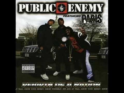 Public Enemy ft Paris - Can't hold us back