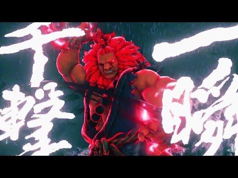 AKUMA TRAILER: Street Fighter 5 Season 2