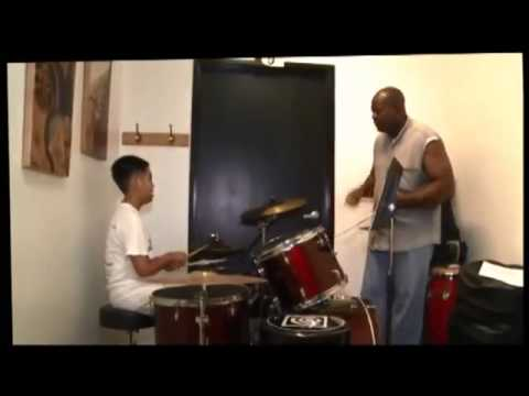 ▶ Drums Lesson at Orange County Music Conservatory