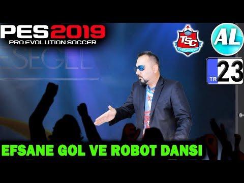 CENGİZ ÜNDER EFSANE GOL VE ROBOT DANSI! | PES 2019 TANTUNİSPOR ANALİG #23