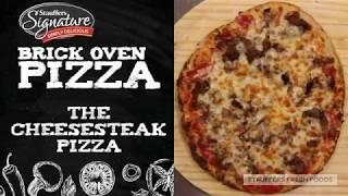 Stauffers Signature Brick Oven Pizza: The Cheesesteak Pizza