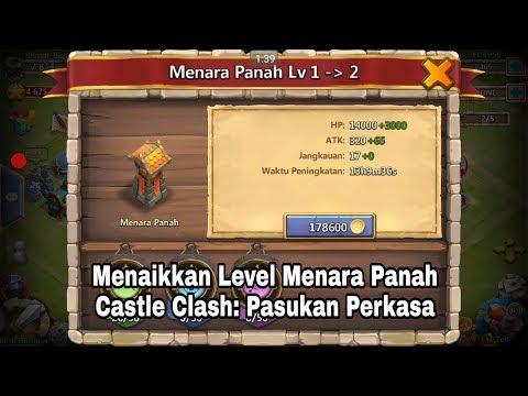 Menaikkan Level Menara Panah (Castle Clash: Pasukan Perkasa) #7